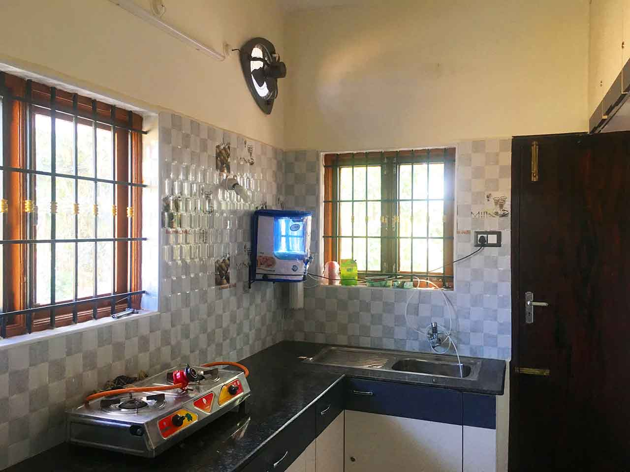 homestays with kitchen in yelagiri hills