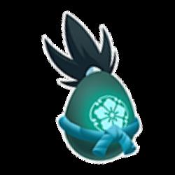 Aparência de ovo Dragão Nobunaga