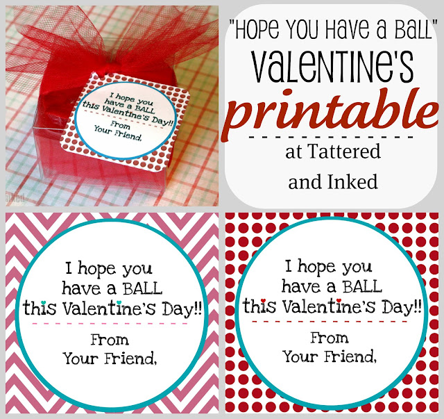 """Tattered and Inked: """"Have a Ball"""" Homemade Valentine ..."""