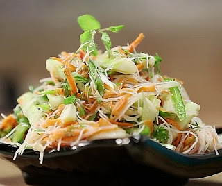 how to make thai salad step by step