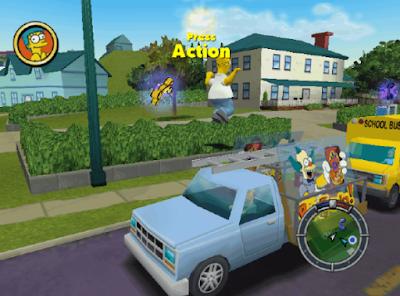 辛普森:橫衝直撞(The Simpsons:Hit & Run),超好玩的任務型賽車!