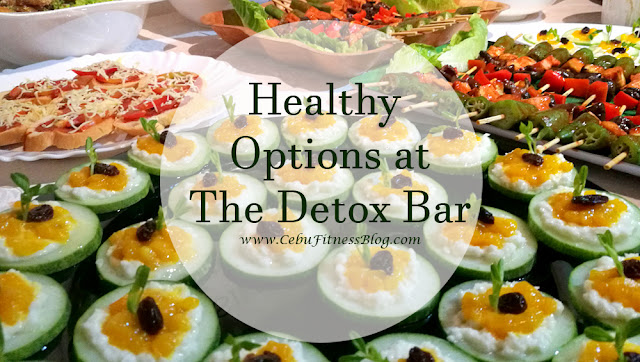 Get healthy options at the Detox Bar