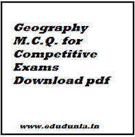 Geography M.C.Q. for Competitive Exams Download pdf