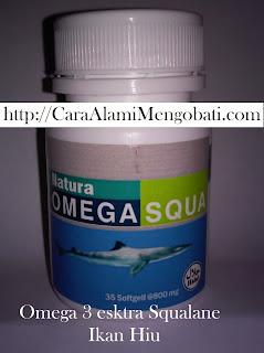 Khasiat manfaat omega 3 squa untuk kesehatan otak dan jantung