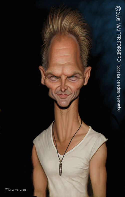 """Sting"" por Walter Fornero"