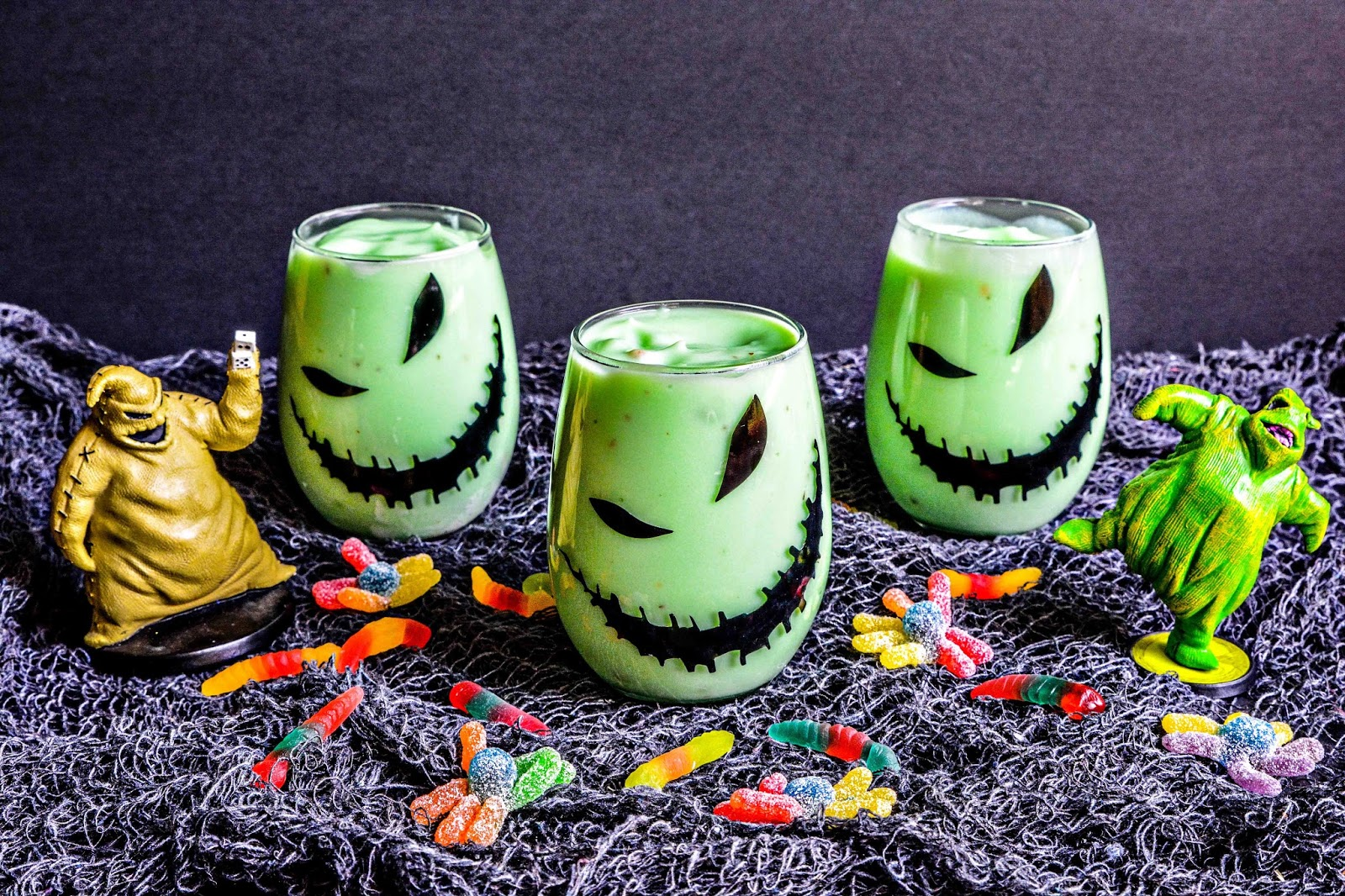 Nightmare Before Christmas Pudding Cups