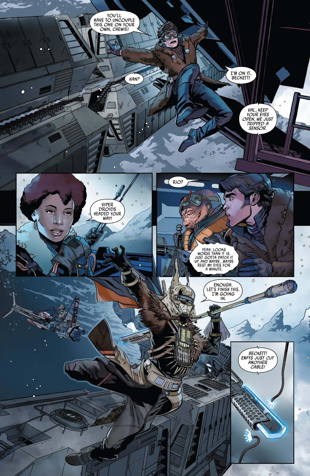 Read online Solo: A Star Wars Story Adaptation comic -  Issue #2 - 14