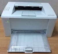 Pencetak HP Laserjet M102a juga mencetak dokumen berwarna putih hitam dengan hasil yang tajam dan imej terperinci