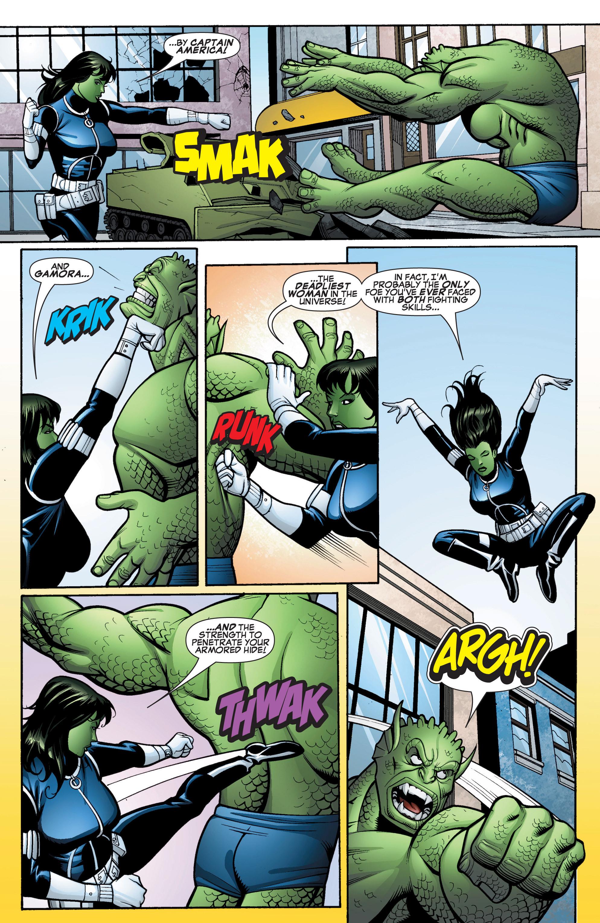 Read online She-Hulk (2005) comic -  Issue #15 - 15