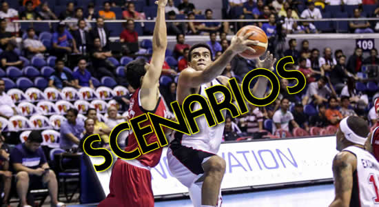 List of Alaska Aces Quarterfinal Scenarios 2018 PBA Commissioner's Cup