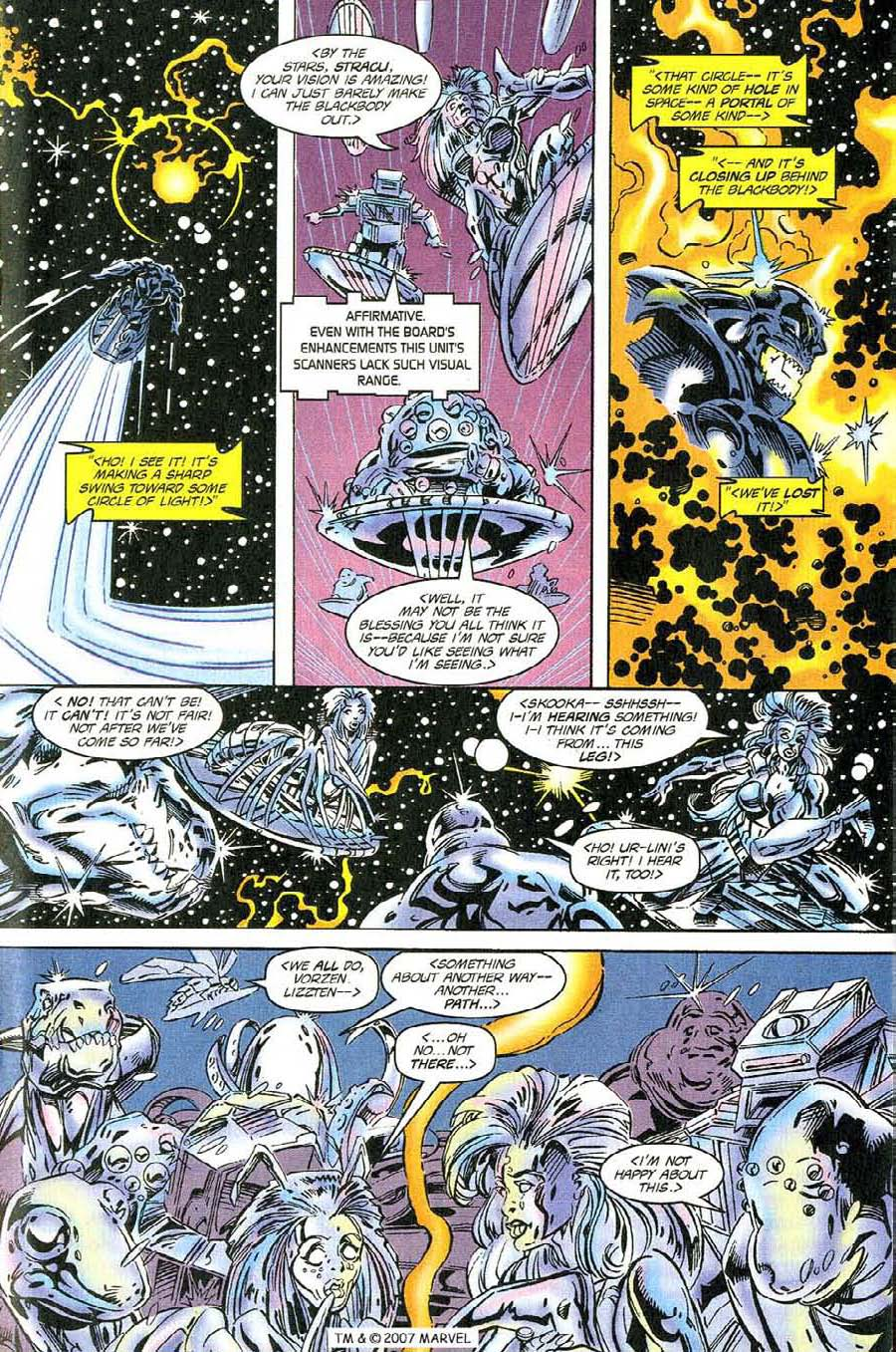 Silver Surfer (1987) Issue #118 #126 - English 17
