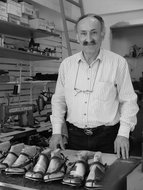 Alanya, Sandaletci, Asim Usta, Asim Hidiroglu, Handmade leather sandals,