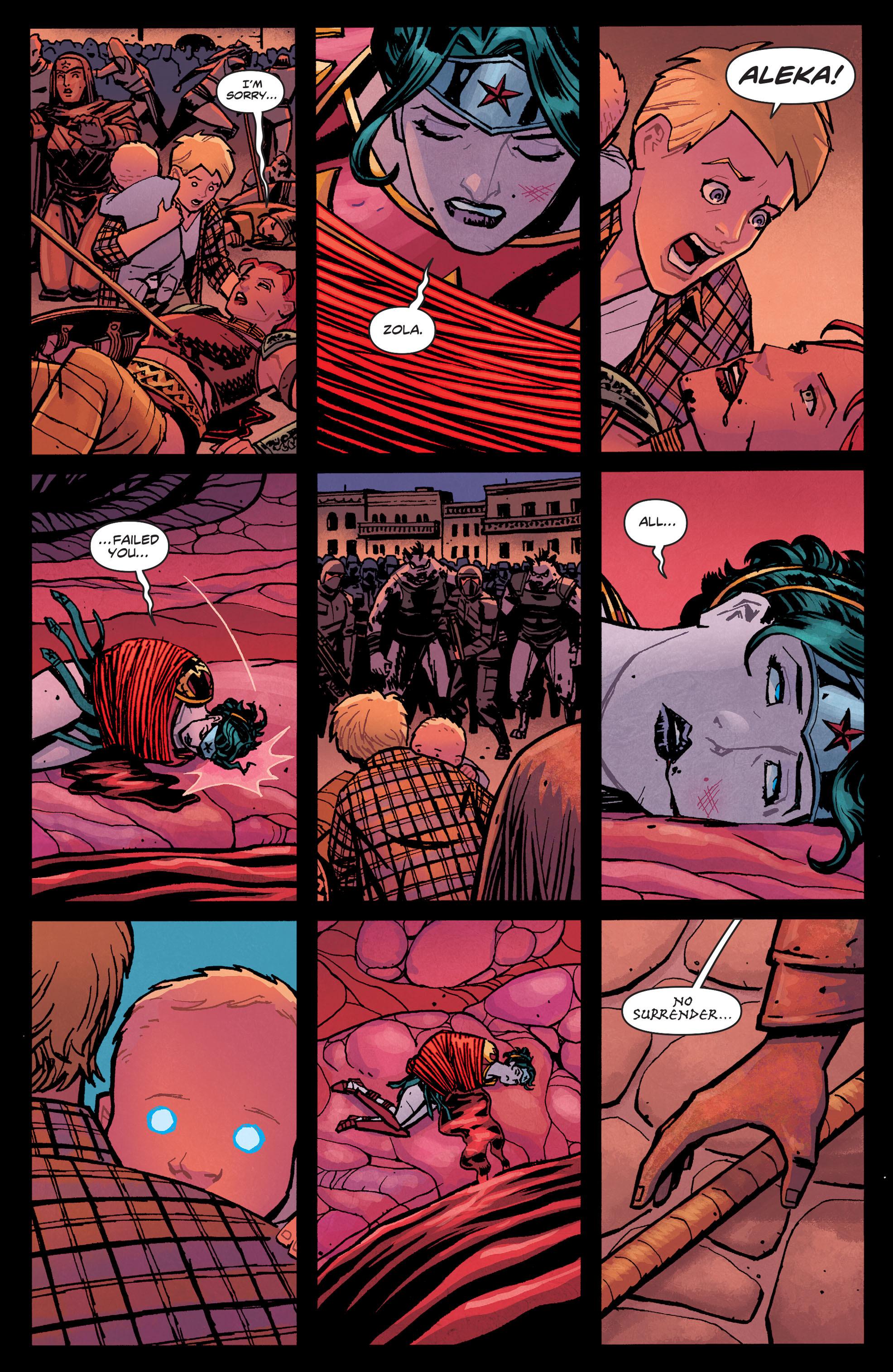 Read online Wonder Woman (2011) comic -  Issue #33 - 20