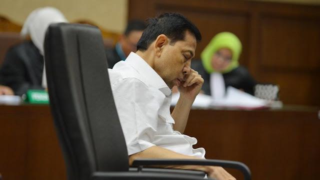 """Korupsi e-KTP : Sidang Setya Novanto, """"Kuasa Hukum Tunggu Tanggapan JPU KPK"""""""