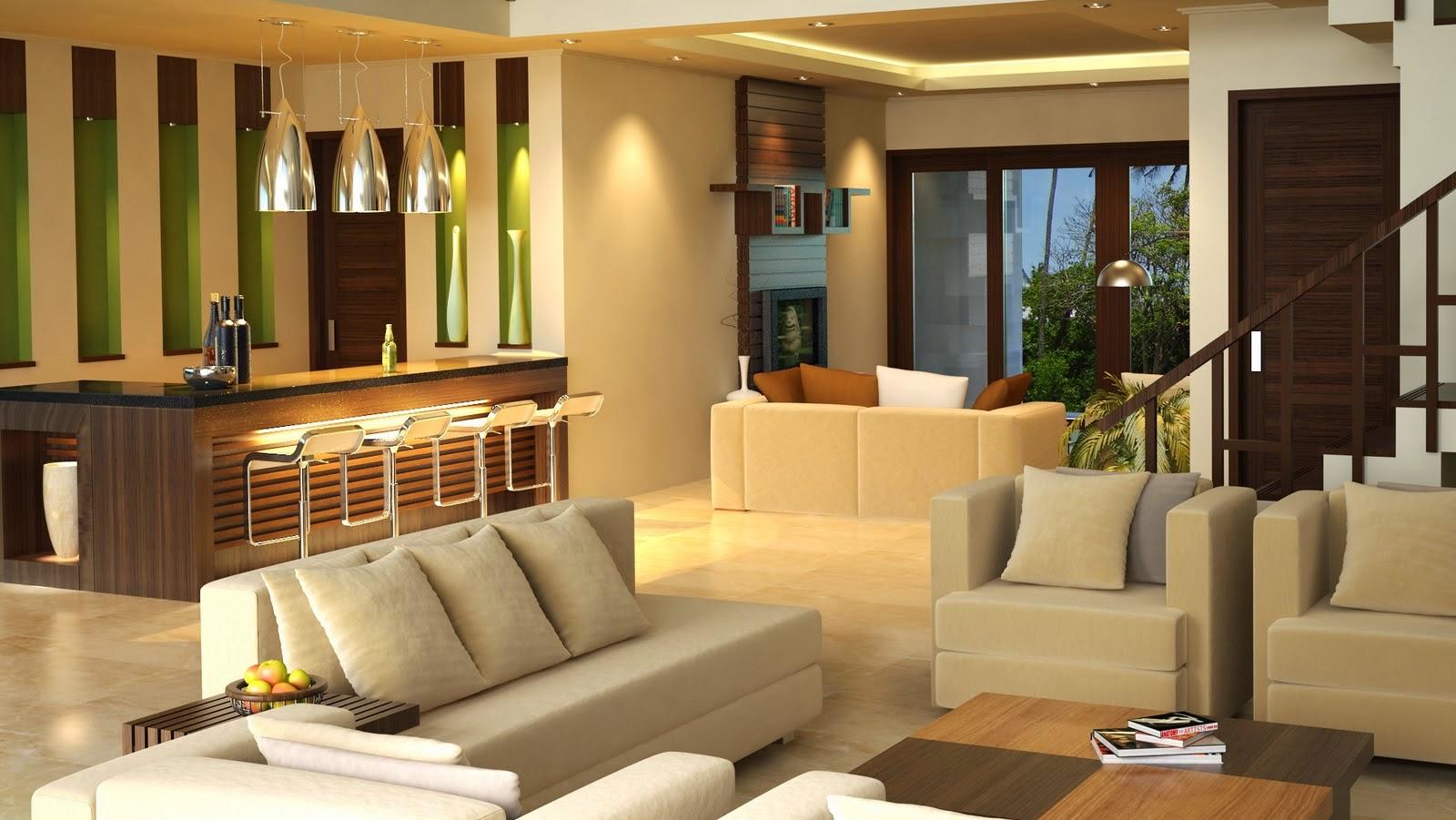 Kumpulan Desain Interior Rumah Minimalis Tanpa Sekat