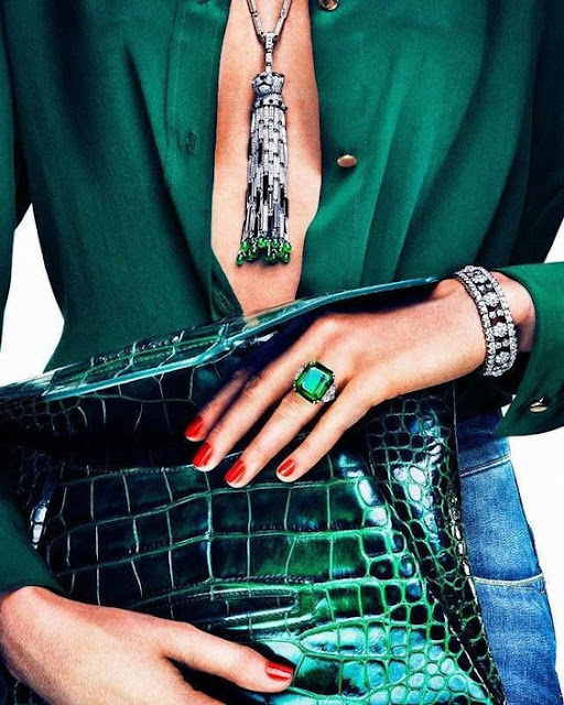 Colour Crush Emerald Green With Pink: Ana Antunes: Color Crush - Hunter Green