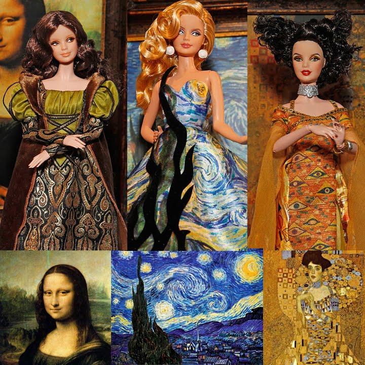 Fine Art Barbies