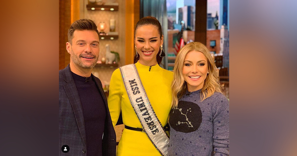 Catriona Gray wows in interviews on American TV shows