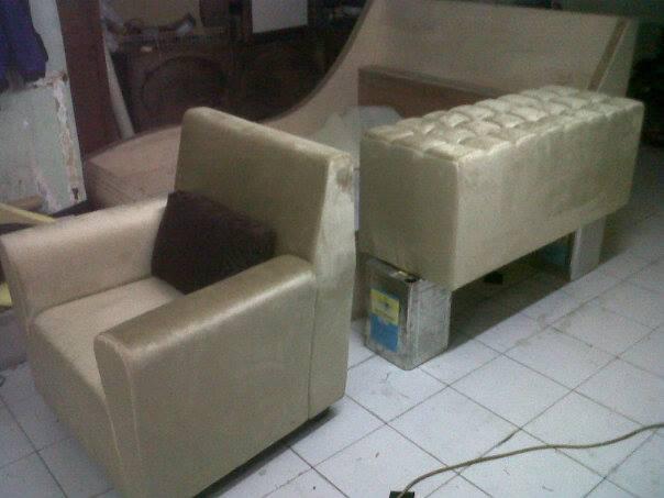 Ganti Kain Kulit Sofa Murah Rapih Di Cibubur Service