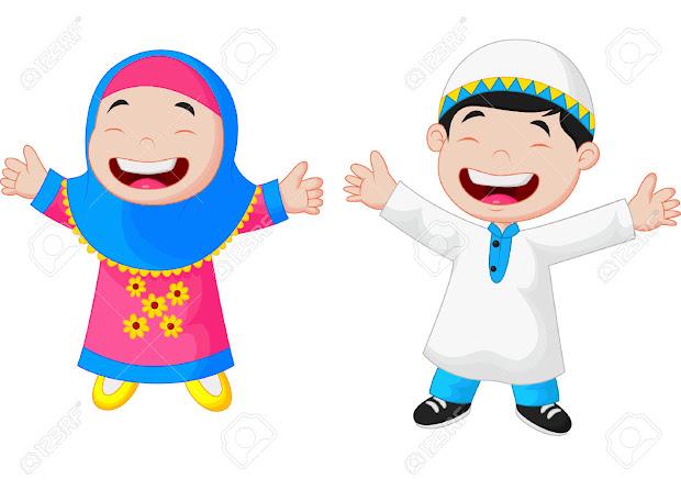 7100 Koleksi Gambar Kartun Muslim Bersalaman HD Terbaru