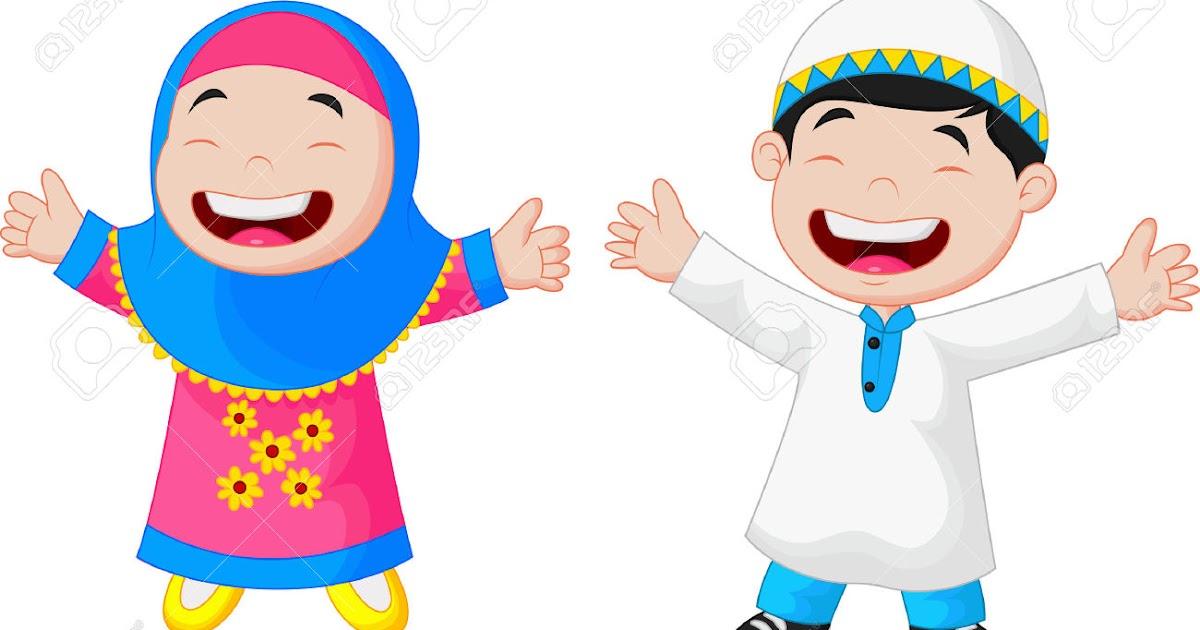 Mirzan Blog S Paling Keren Gambar Anak Sekolah Tk Muslim Kartun