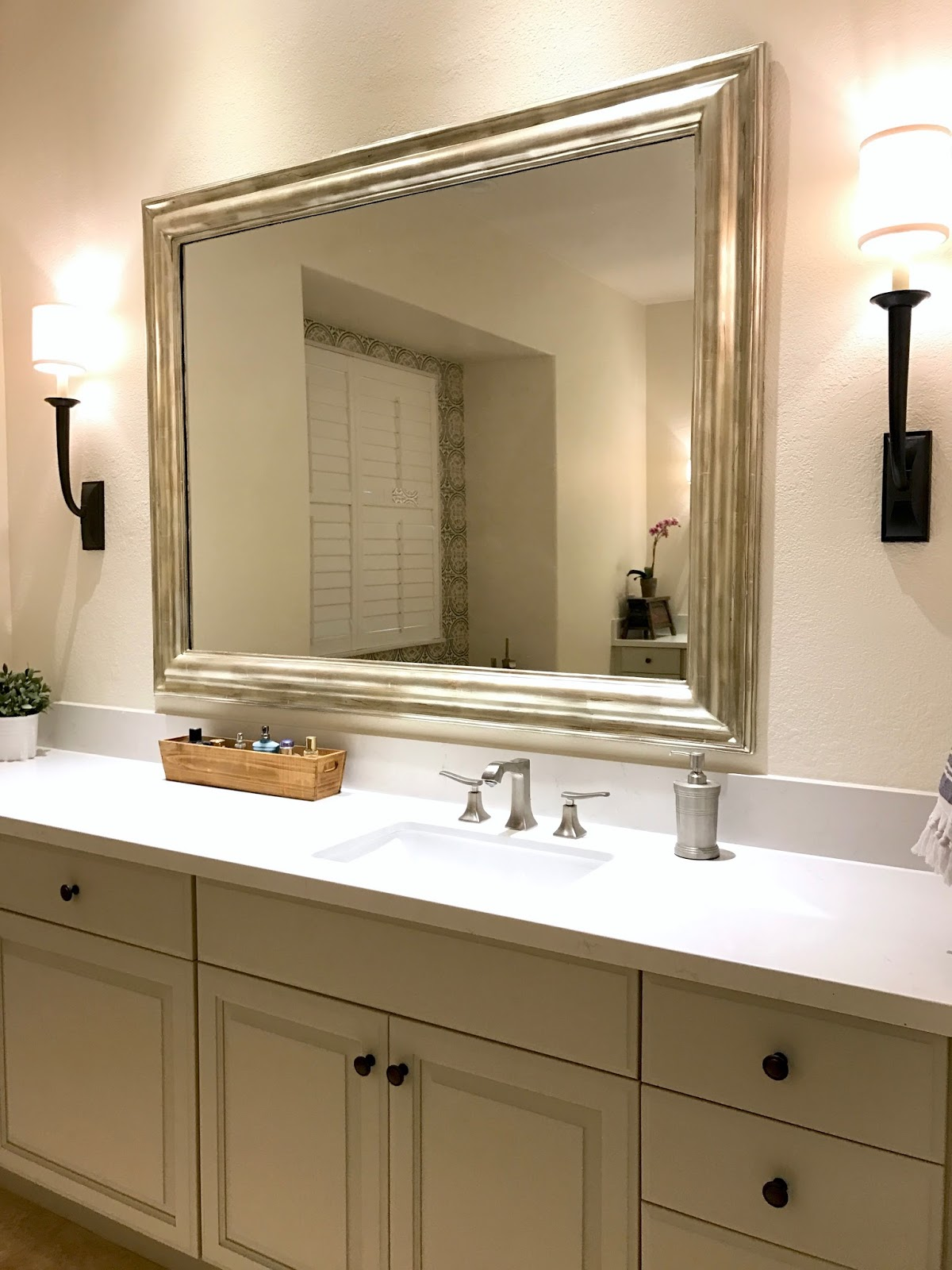 MASTER BATH BEFORE AFTER Fresh Mediterranean Classic Casual Home