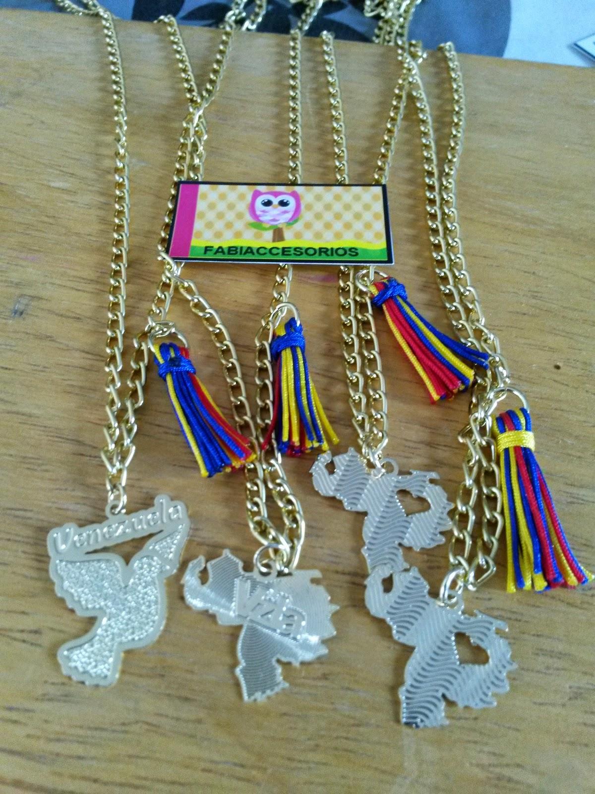 fd932edb6d Hermosos collares representativos de nuestro pais Venezuela