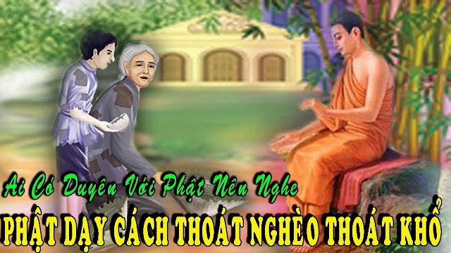 Quan niệm của nhà Phật về sự giàu, nghèo, làm sao để thoát nghèo?