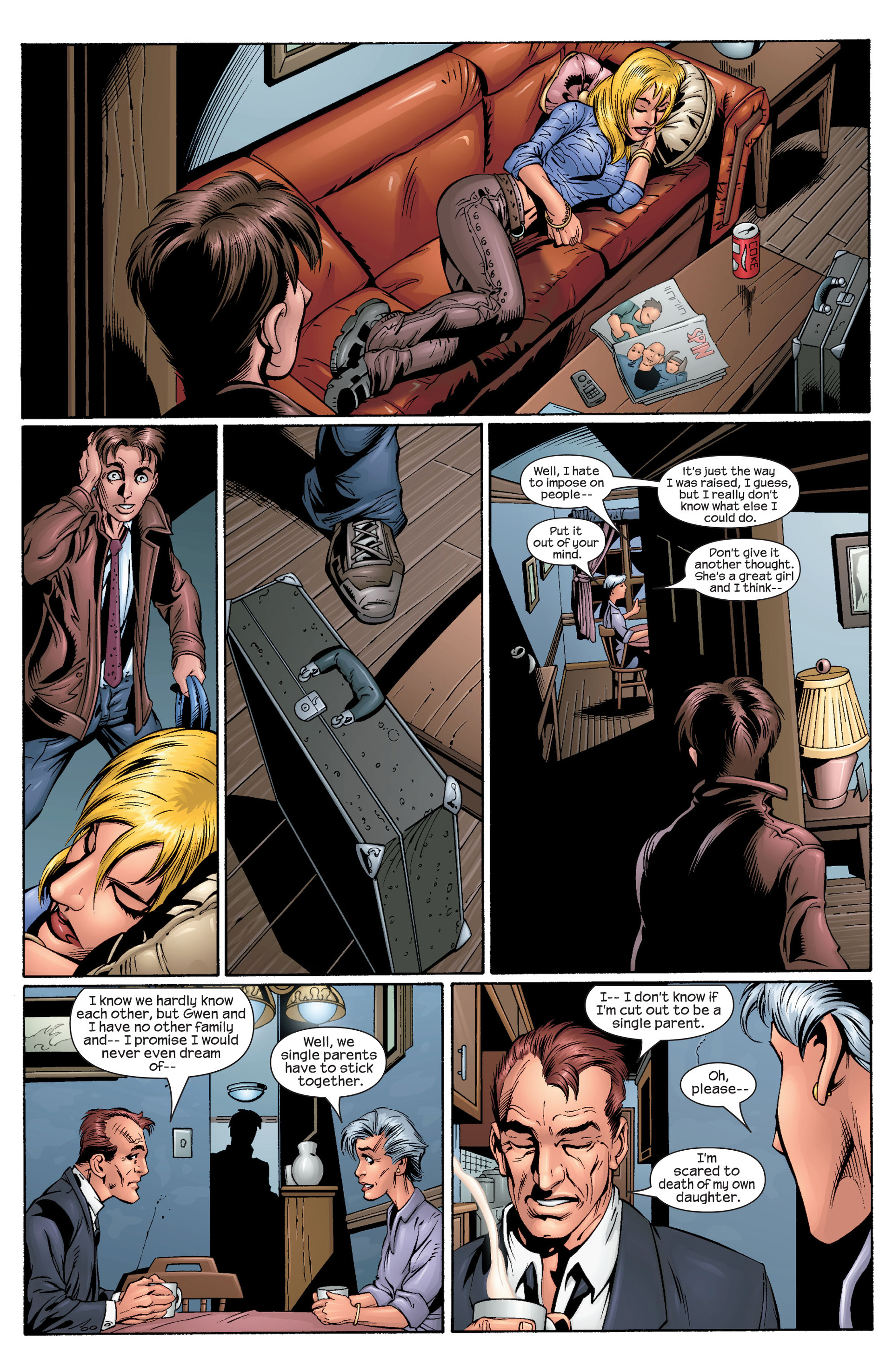 Read online Ultimate Spider-Man (2000) comic -  Issue #29 - 15