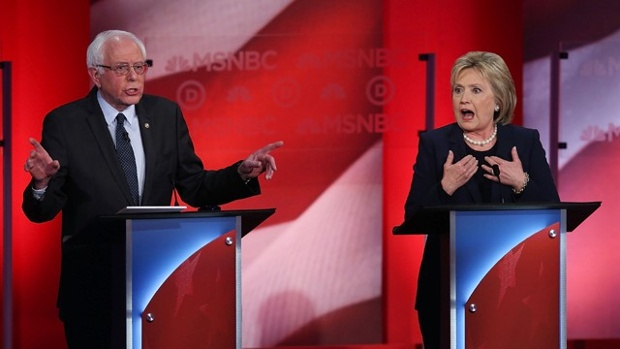 Clinton-Sanders contest : Both said they would run positive campaigns