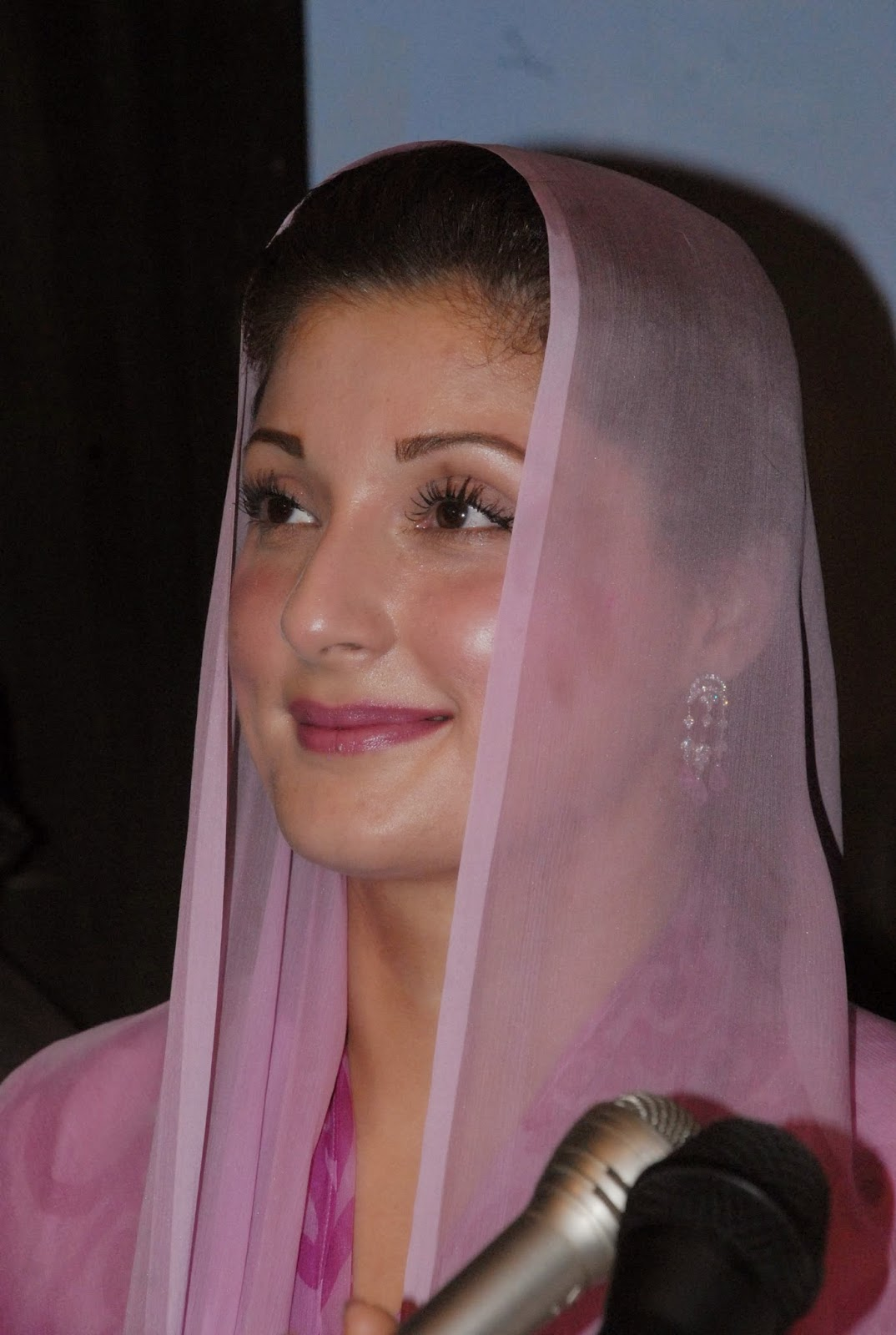 Hot And Sexy Politician Photos Maryam Nawaz Sharif Hd -8471
