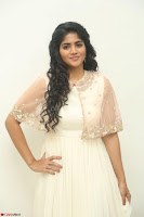 Megha Akash in beautiful Cream Transparent Anarkali Dress at Pre release function of Movie LIE ~ Celebrities Galleries 003.JPG