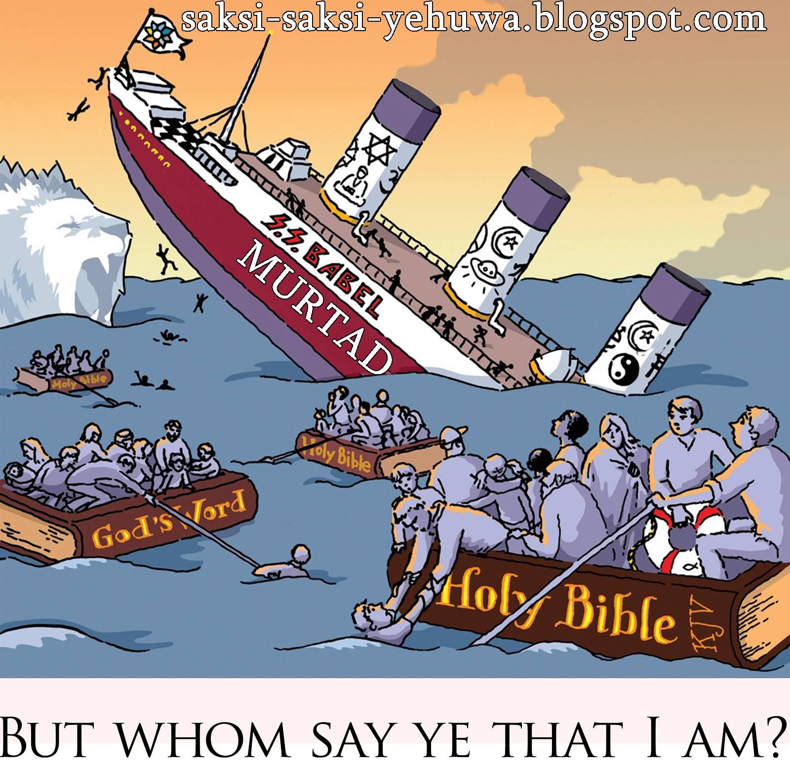 Menyingkap Fakta Ajaran Saksi Yehuwa Sesat Kultus Kristen
