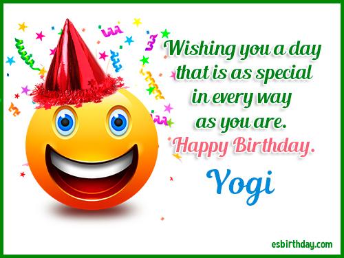 Image result for happy birthday yogi