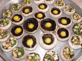 Ciuperci umplute preparare retete culinare,