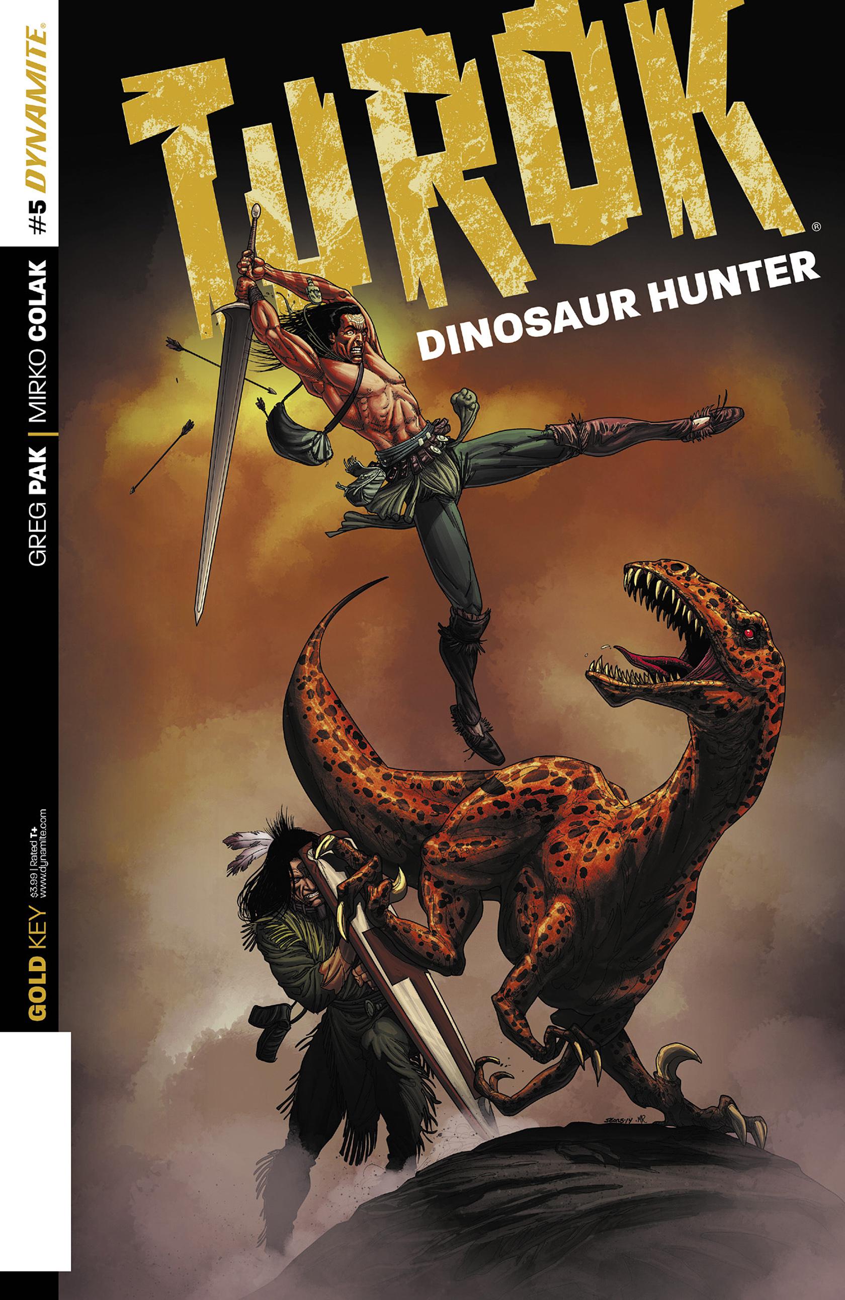 Read online Turok: Dinosaur Hunter (2014) comic -  Issue #5 - 1