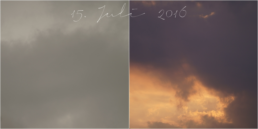 Blog + Fotografie by it's me! | fim.works | Himmel am 15. Juli 2016