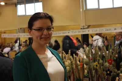 Katarzyna Nowak, kiermasz wielkanocny, Krzanowice