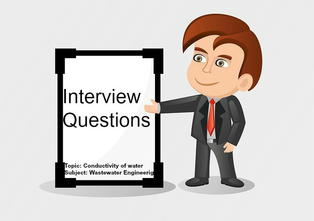 Conductivity Of Water : Top viva interview questions on conductivity test of
