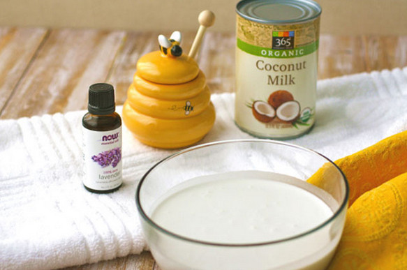 Hướng dẫn làm kem tắm trắng bằng dầu dừa