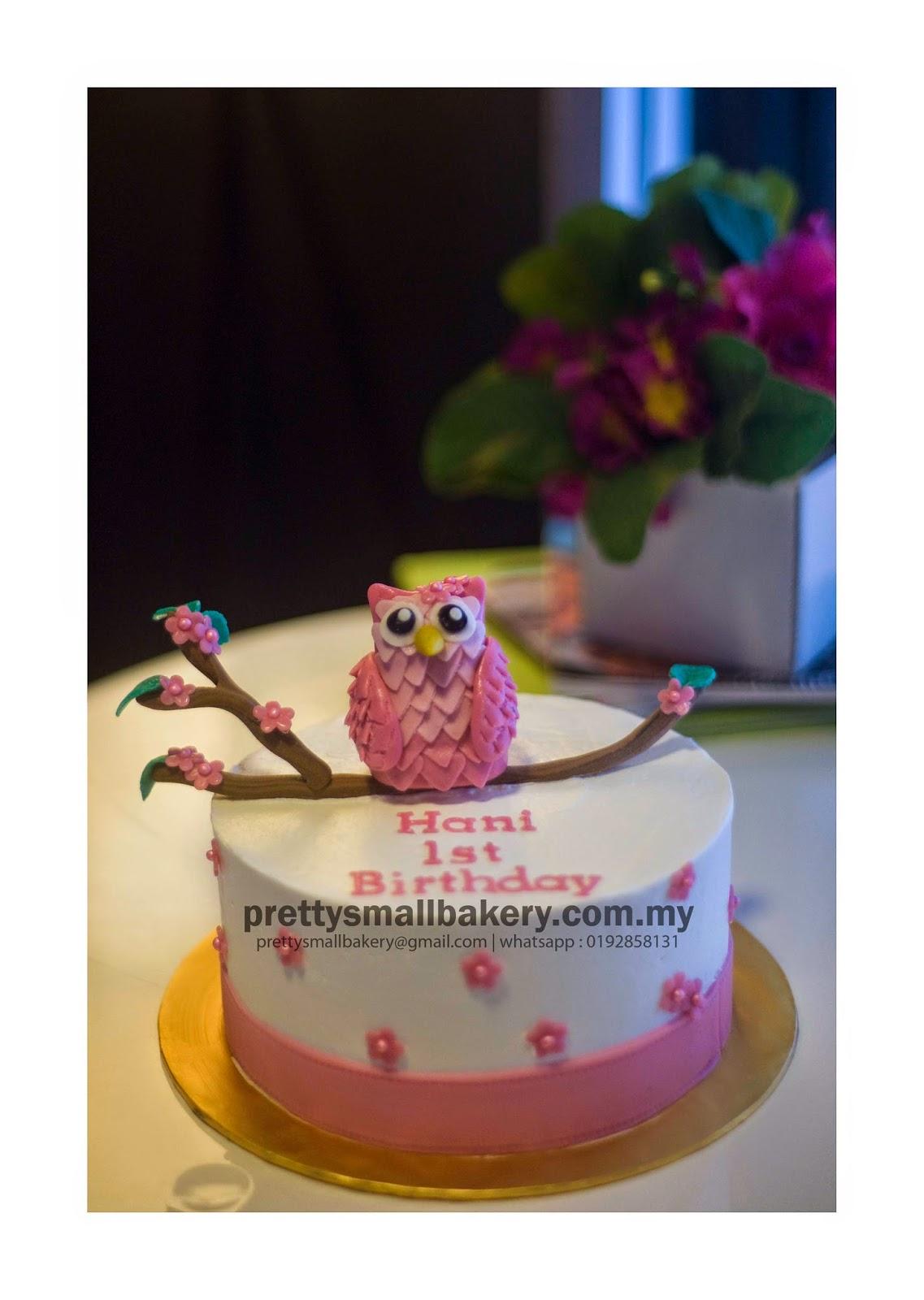 Kek Birthday Yang Paling Comel Prettysmallbakery