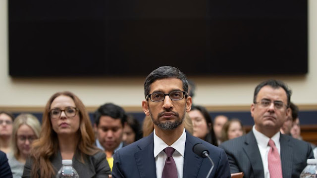 CEO of Sundar Pichai on Google for Data collection and privacy