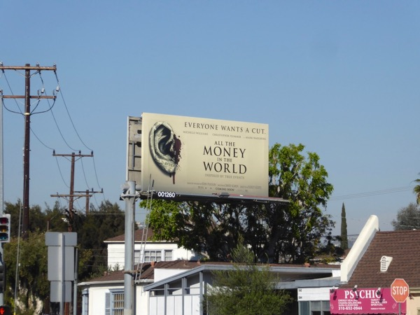 All Money in World billboard