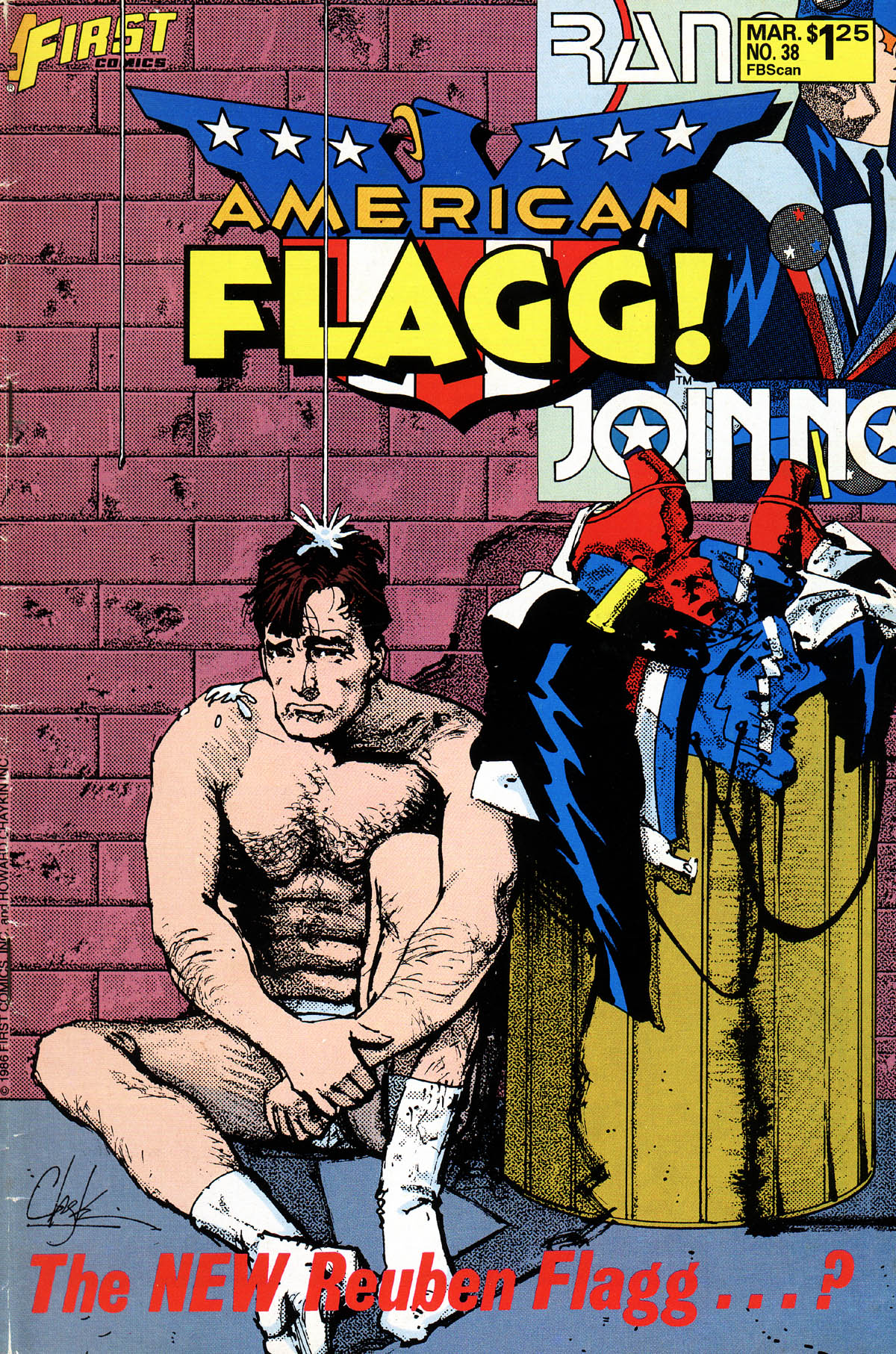 Read online American Flagg! comic -  Issue #38 - 1