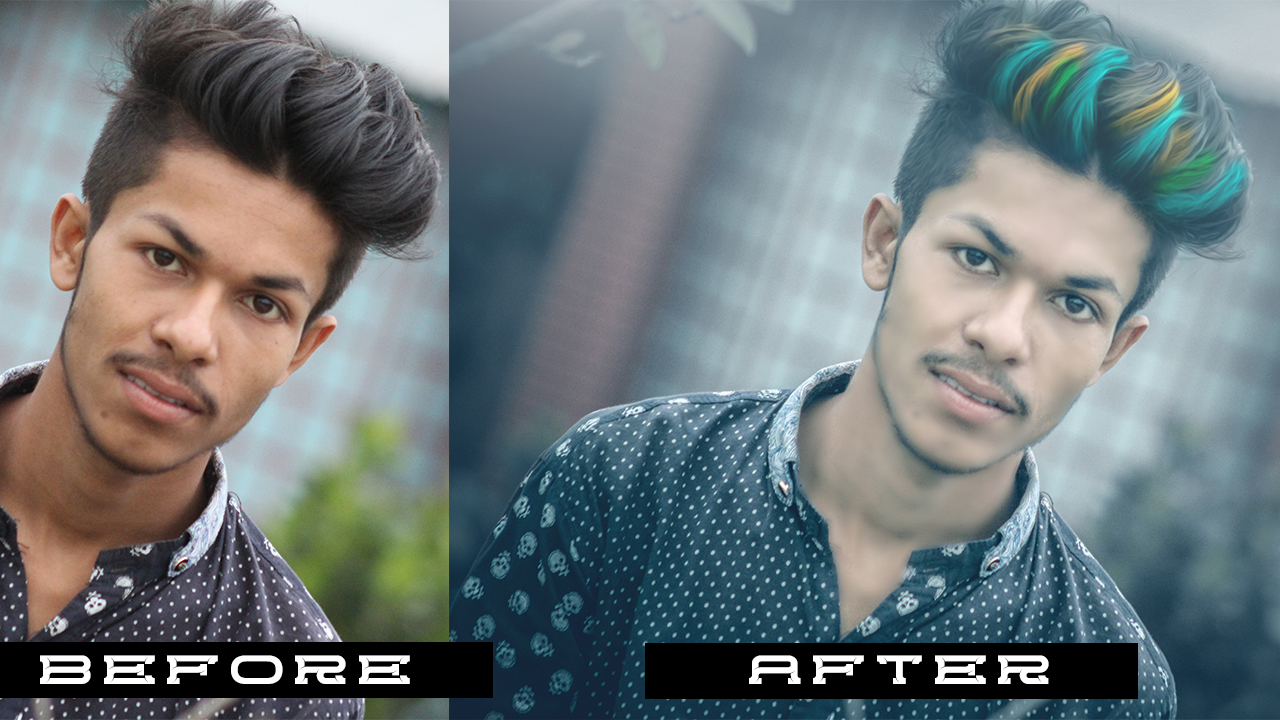 how to use photoshop for hairstyles - photoshop editing