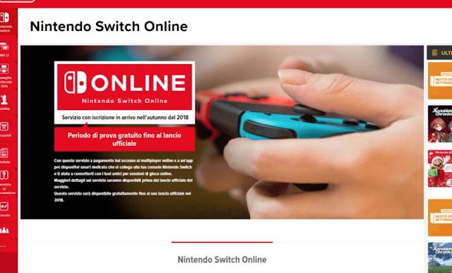 El online de Nintendo Switch sería de pago el próximo otoño