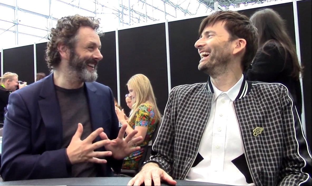 GOOD OMENS: David Tennant & Michael Sheen Talk Aziraphale