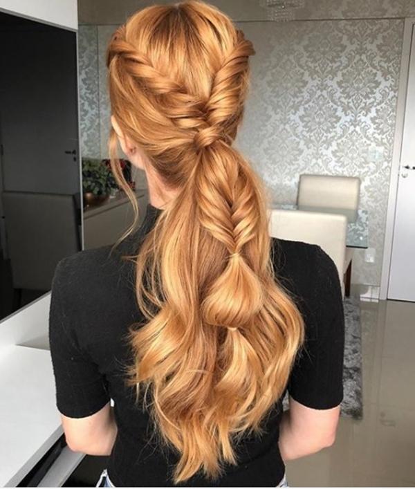 rabo de cavalo festa ponytail