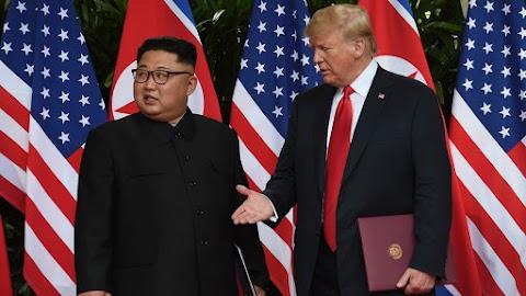 Trump folytatná a tárgyalásokat Észak-Koreával, de nem hajlandó engedményekre