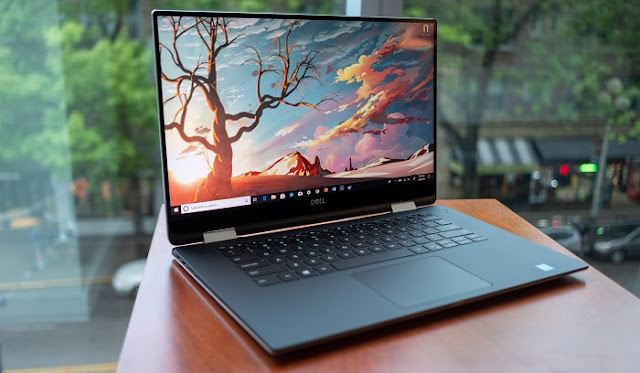 Laptop Gaming Terbaik - Dell XPS 15 2-in-1